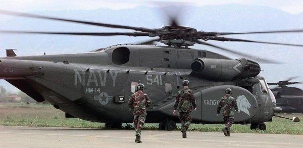 Военный вертолёт США потерпел крушение в Японии