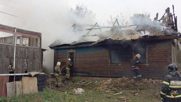 14-летняя школьница вынесла из горящего дома шестерых детей