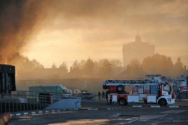Пожар в ТЦ «Синдики» нанес ущерб владельцам в четыре миллиарда рублей