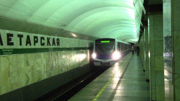 В метро Петербурга пытались пронести гранату