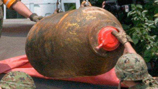 В Киеве нашли бомбу времен Второй мировой
