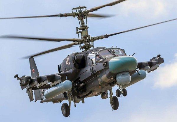 СМИ сообщают о втором происшествии с вертолетом КА-52 на «Западе-2017»