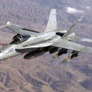 В Испании произошло крушение истребителя F-18