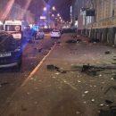 В Сети обнародовали видео с последствиями масштабного смертельного ДТП в Харькове