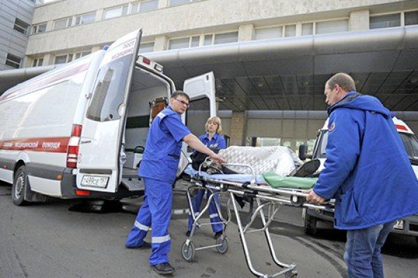 Из-за пожара в Москве пенсионерке понадобилась госпитализация