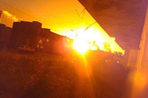 Трещина могла стать причиной аварии на газопроводе у Красной Поймы