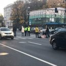 В Санкт-Петербурге байкер сбил двух пешеходов