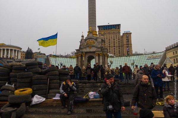 Полиция применила слезоточивый газ против митингующих у Верховной Рады Украины