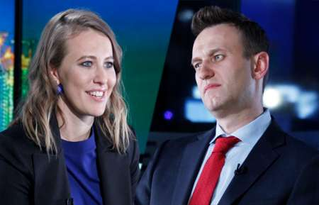 Алексей Навальный прокомментировал выдвижение Ксении Собчак в президенты