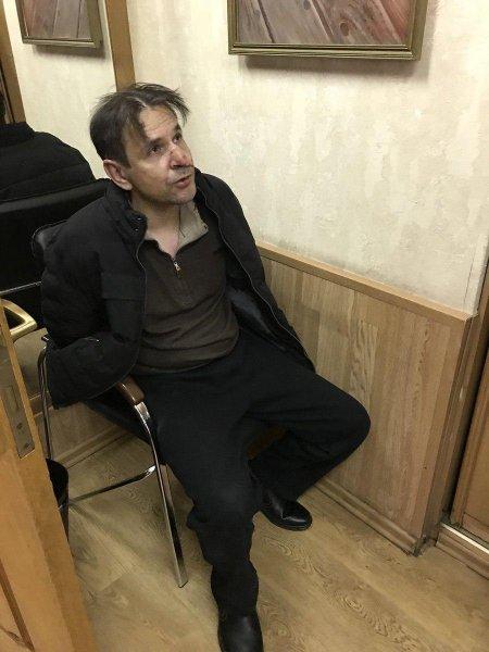 В Сети появилось фото пырнувшего в шею журналистки «Эха Москвы»