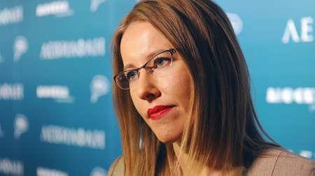Ксения Собчак назвала Крым украинским «с точки зрения международного права»