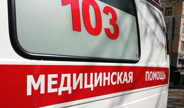Во Владивостоке при аварии сгорела карета скорой помощи