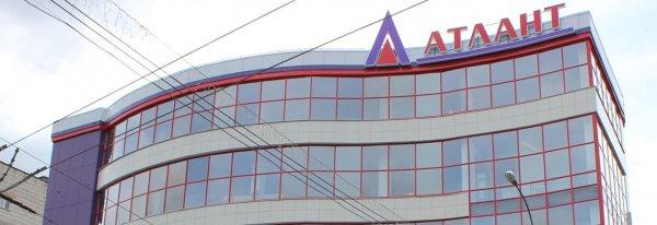 В Кирове горит здание ТЦ «Атлант»