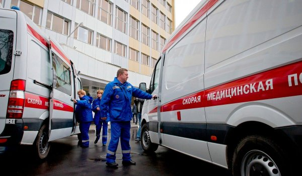 В Москве мужчина напал на сотрудника скорой помощи