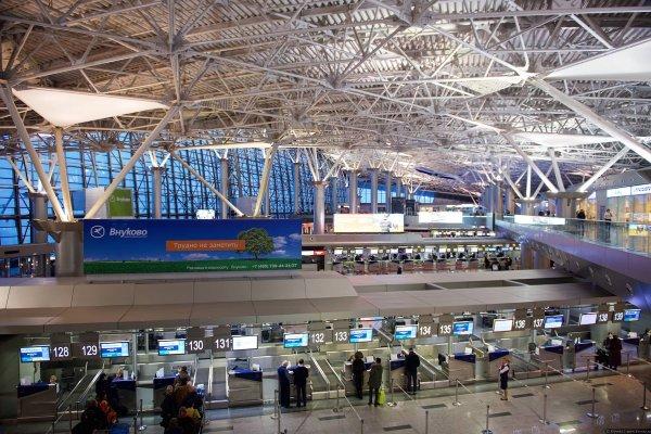 Во Внуково произошло задымление терминала