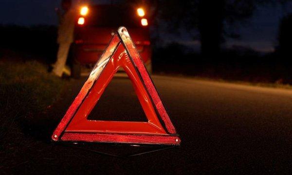 В Бахчисарае иномарка сорвалась с железнодорожного моста