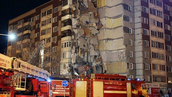 Все шестеро погибших при обрушении дома в Ижевске опознаны