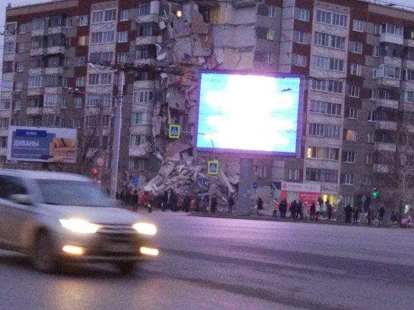 В МЧС назвали число выживших при обрушении дома в Ижевске