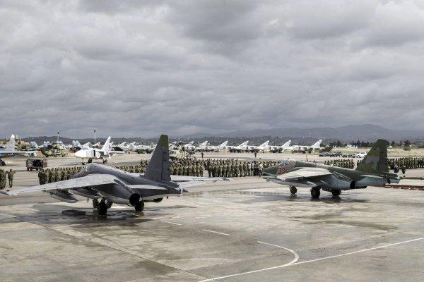 Военные отрицают нападение на российскую автоколонну в Сирии