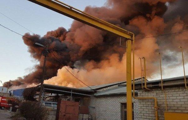 Фрагмент тела женщины найден после пожара на складе в Волгограде
