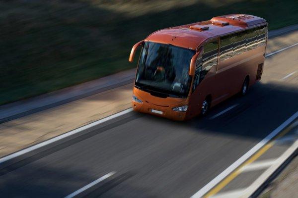 Автобус врезался в грузовик на дороге Москва - Петербург, 8 человек пострадали