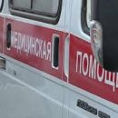 В Красноярске иномарка врезалась в остановку в людьми