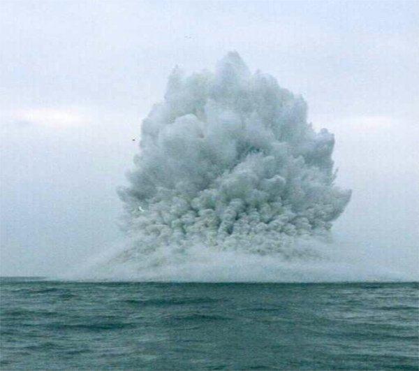 Прогремел взрыв в зоне пропажи подлодки «Сан-Хуан»