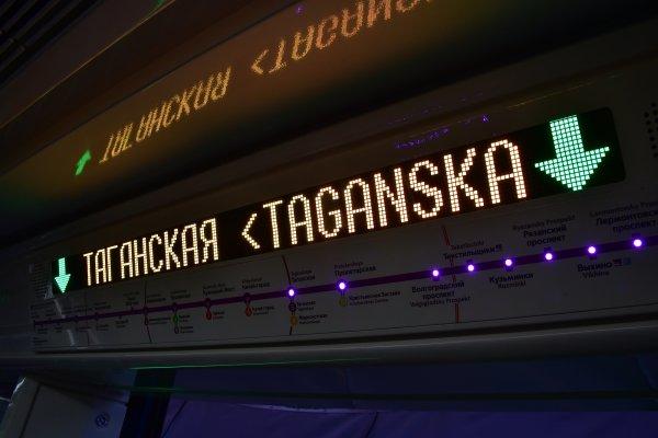 В Москве из-за сбоя встали поезда фиолетовой ветки метро