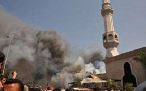 В Египте в мечети прозвучал взрыв