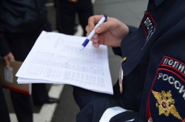 Полиция привлечет к ответственности ездившего по тротуарам около Кремля водителя