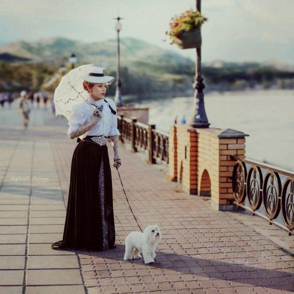 В Москве женщина покусала даму с собачкой