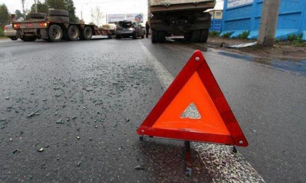 На западе Москвы два автомобиля попали в ДТП