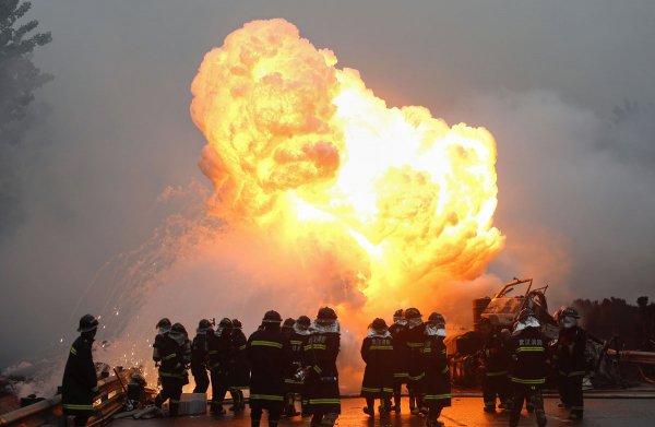 Число жертв мощного взрыва в Китае достигло 4 человек