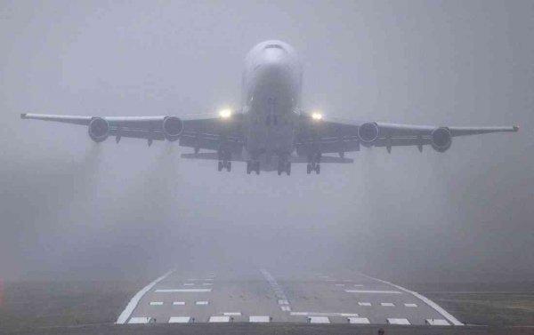 В Симферополе из-за сильного тумана задержаны 20 авиарейсов