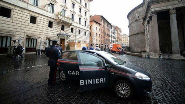 В Италии, в центре Рима раздался взрыв