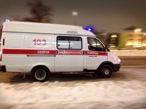 В Курской области снегоуборочная машина съехала в кювет