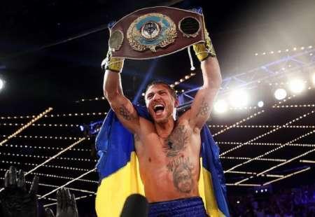 Украинский боксер Василий Ломаченко защитил титул чемпиона по версии WBO. ВИДЕО