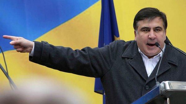 Сторонники Саакашвили силой пытаются проникнуть в здание суда в Киеве
