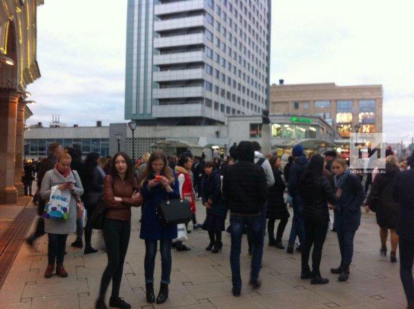 В Москве из-за угрозы взрыва эвакуировали ТЦ «Круг» и «Водный»