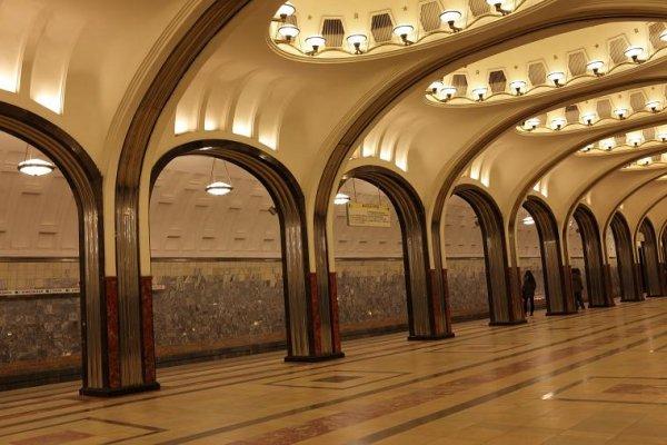 Кинологи проверят станцию метро в Москве из-за бесхозного предмета