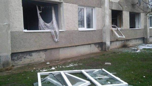 В Крыму в ходе взрыва газа  в жилом здании травмы получил один человек