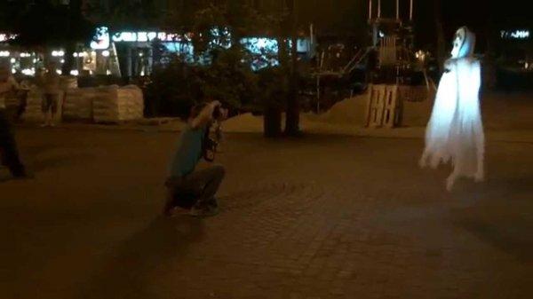 В Ростове призрак напугал туристов