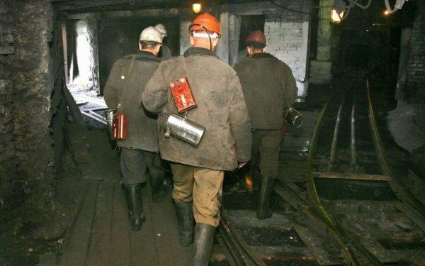 Еду и одеяла передали заблокированным горнякам на шахте «Есаульская»