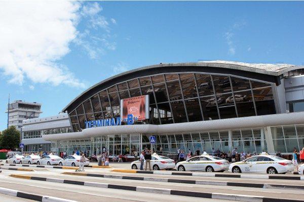 Киевский аэропорт закрыли из-за ЧП с белорусским самолетом