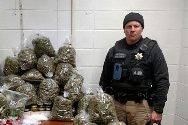 В США пенсионеров арестовали с 30 килограммами «рождественской» марихуаны