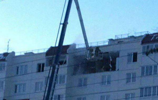 В жилом доме в Омске взорвался газовый баллон