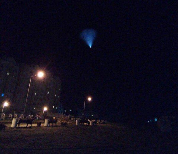 В Севастополе утром снова сфотографировали НЛО