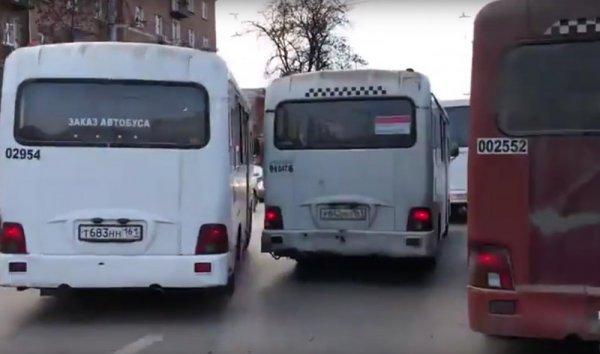 В Ростове шофёр автобуса обматерил и выгнал всех пассажиров из салона