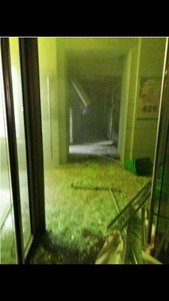 В супермаркете Петербурга произошел мощный взрыв