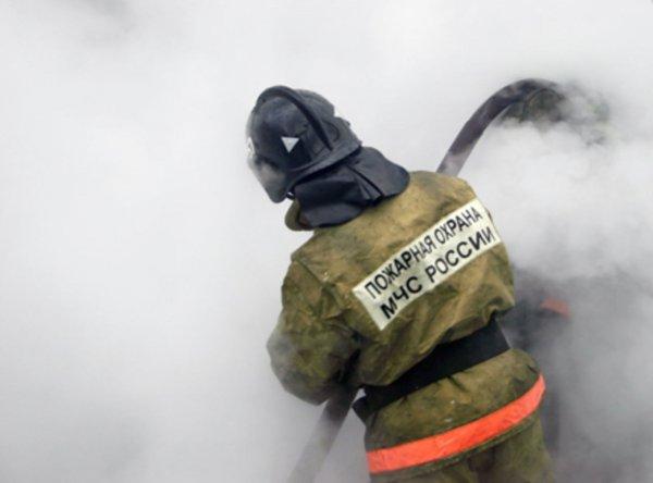 В Ростовской области от пожара пострадал человек